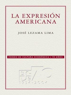 cover image of La expresión americana