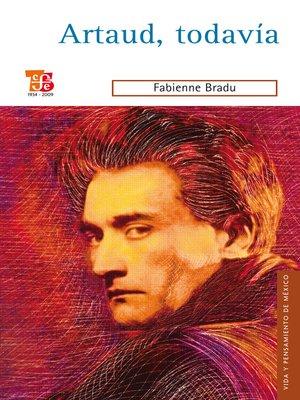 cover image of Artaud, tadavía