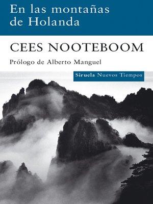 cover image of En las montañas de Holanda