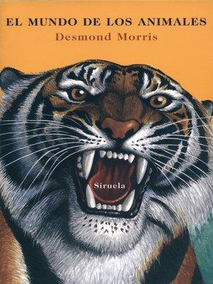 cover image of El mundo de los animales