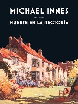 cover image of Muerte en la rectoría