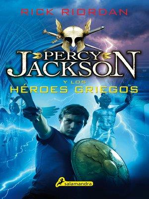 cover image of Percy Jackson y los héroes griegos