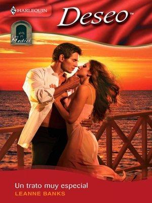 cover image of Un trato muy especial