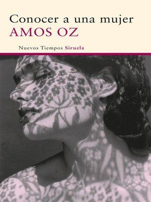 cover image of Conocer a una mujer