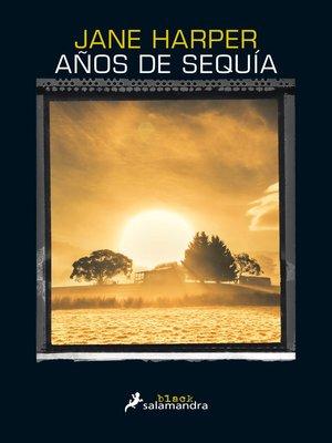 cover image of Años de sequía