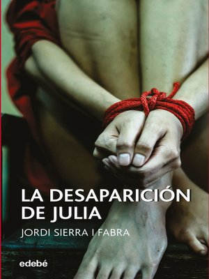cover image of La desaparición de Julia