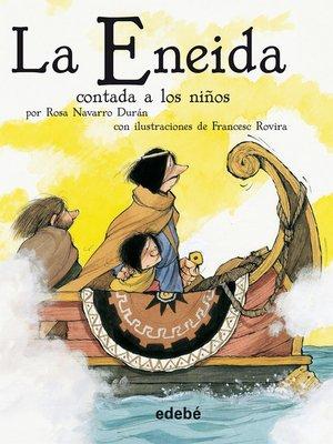 cover image of La Eneida contada a los niños
