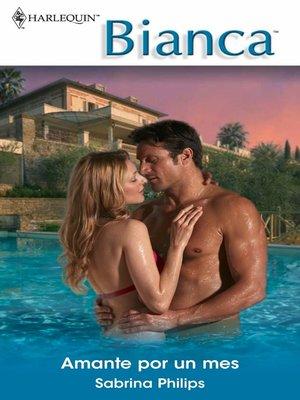 cover image of Amante por un mes