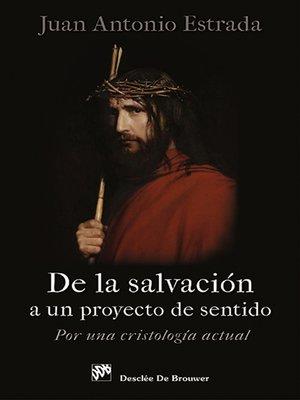 cover image of De la salvación a un proyecto de sentido