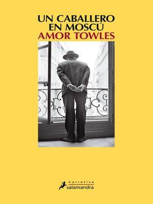 cover image of Un caballero en Moscú