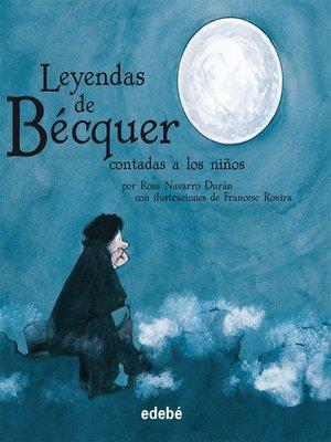 cover image of Leyendas de Bécquer contadas a los niños