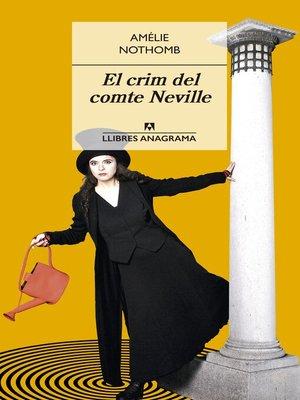 cover image of El crim del comte Neville