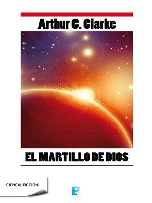cover image of El martillo de Dios