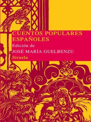 cover image of Cuentos populares españoles