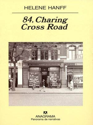 cover image of 84, Charing Cross Road
