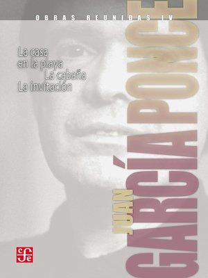 cover image of Obras reunidas, 4. Novelas