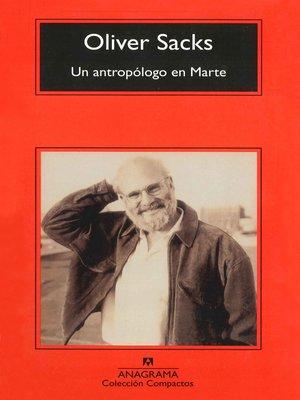 cover image of Un antropólogo en Marte
