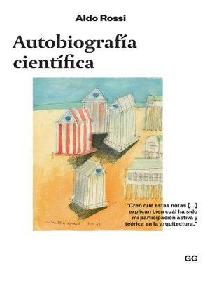 cover image of Autobiografía científica