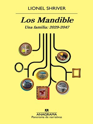 cover image of Los Mandible. Una familia