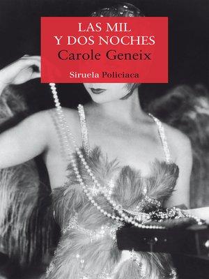 cover image of Las mil y dos noches