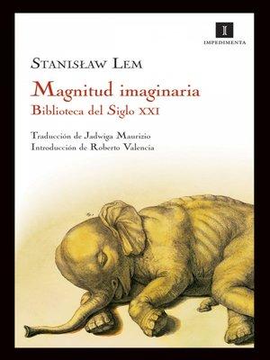 cover image of Magnitud imaginaria