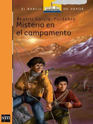 cover image of Misterio en el campamento