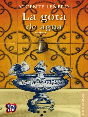 cover image of La gota de agua
