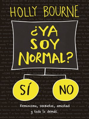cover image of ¿Ya soy normal?