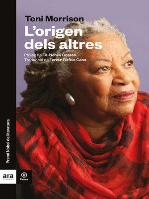 cover image of L'origen dels altres