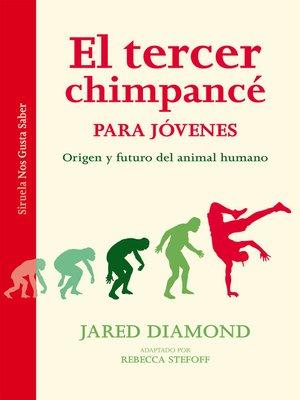 cover image of El tercer chimpancé para jóvenes