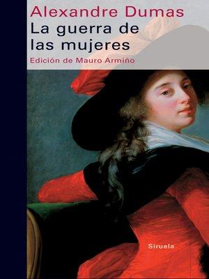 cover image of La guerra de las mujeres