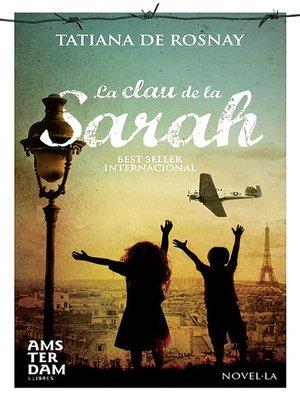 cover image of La clau de la Sarah