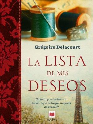 cover image of La lista de mis deseos