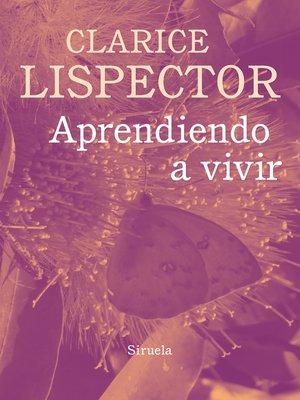cover image of Aprendiendo a vivir