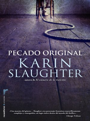 cover image of Pecado original