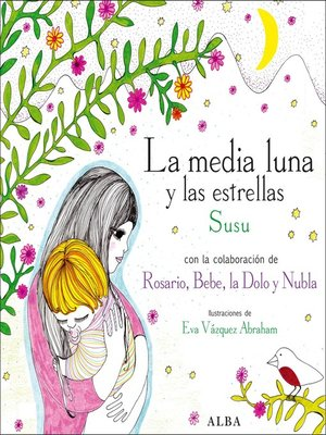 cover image of La media luna y las estrellas