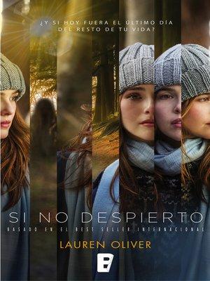 cover image of Si no despierto