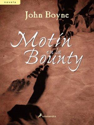 cover image of Motín en la Bounty