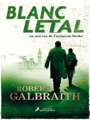 cover image of Blanc letal