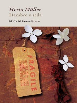 cover image of Hambre y seda