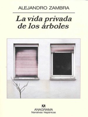 cover image of La vida privada de los árboles