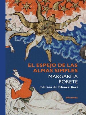 cover image of El espejo de las almas simples