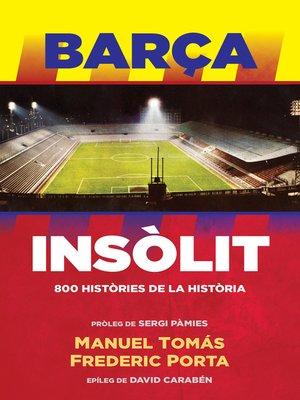 cover image of Barça Insòlit