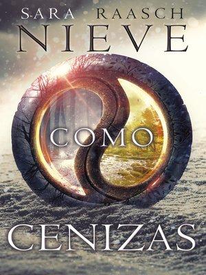 cover image of Nieve como cenizas