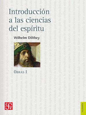 cover image of Introducción a las ciencias del espíritu