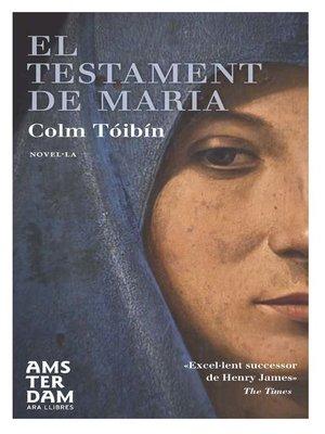 cover image of El testament de Maria