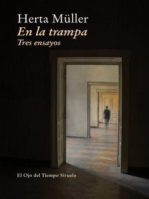 cover image of En la trampa