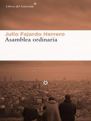 cover image of Asamblea ordinaria