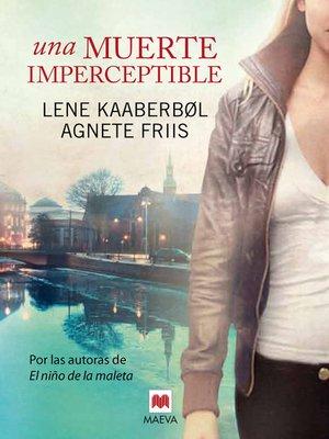 cover image of Una muerte imperceptible