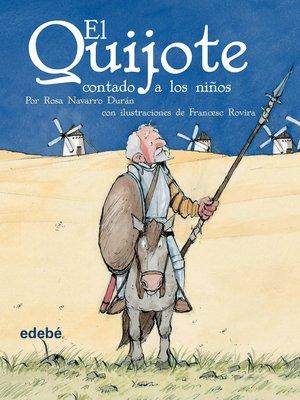 cover image of El Quijote contado a los niños